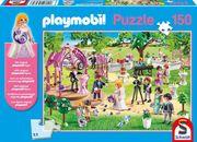 Schmidt 56271 - Playmobil, Hochzeit, Puzzle, eine Figur, 150 Teile