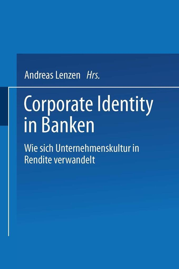 Corporate Identity in Banken als eBook Download...