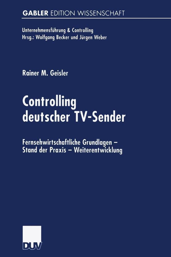 Controlling deutscher TV-Sender als eBook Downl...