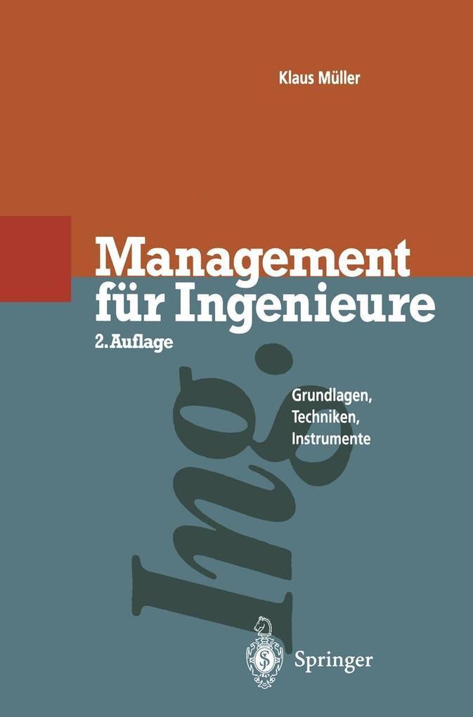 Management fur Ingenieure als eBook Download vo...