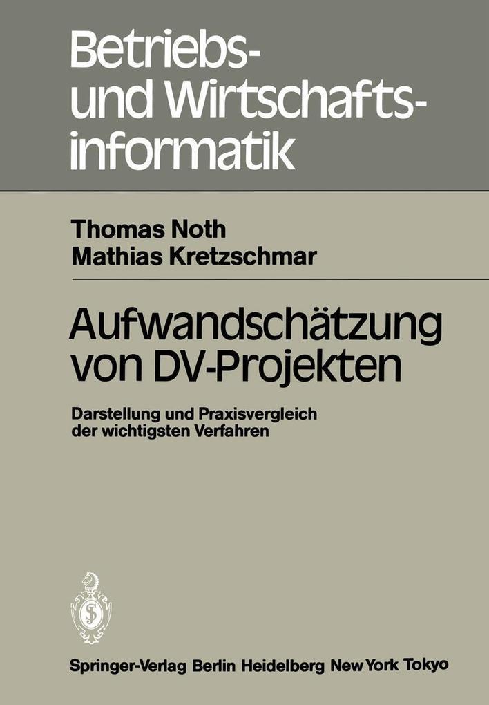 Aufwandschatzung von DV-Projekten als eBook Dow...