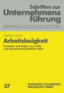 Arbeitslosigkeit als eBook Download von