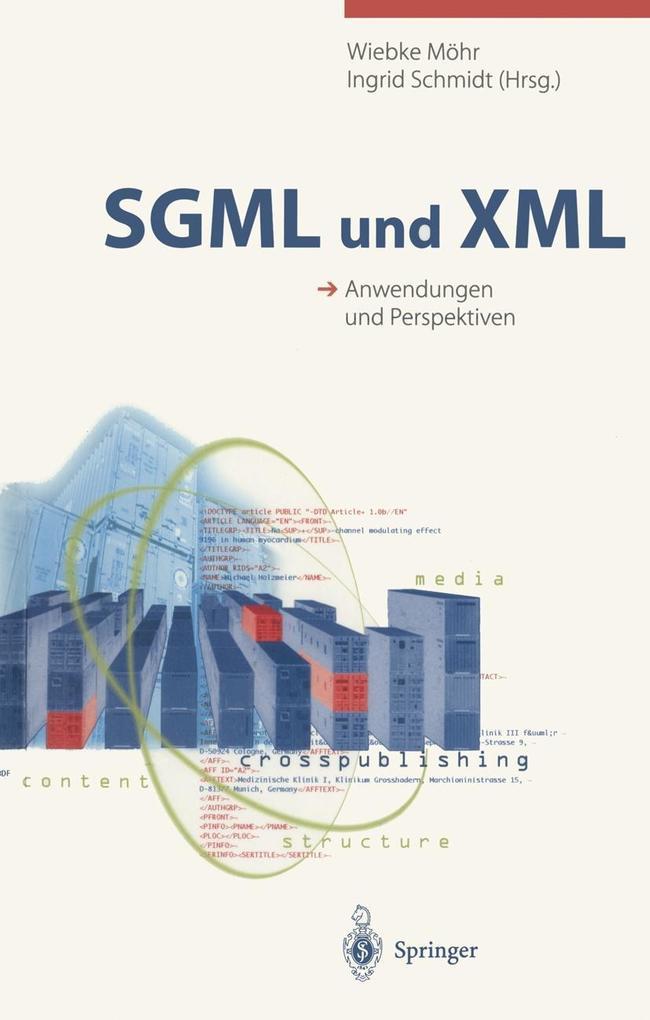 SGML und XML als eBook Download von