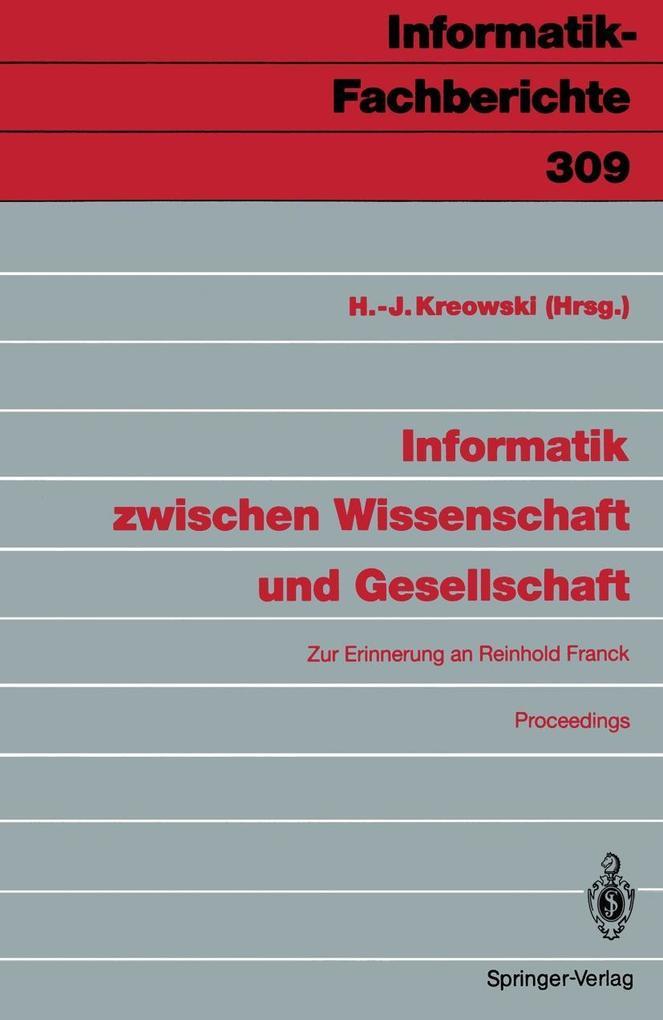 Informatik zwischen Wissenschaft und Gesellscha...
