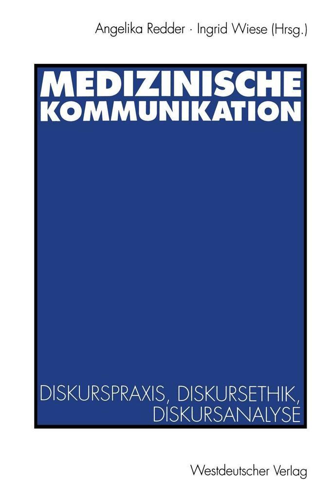 Medizinische Kommunikation als eBook Download von