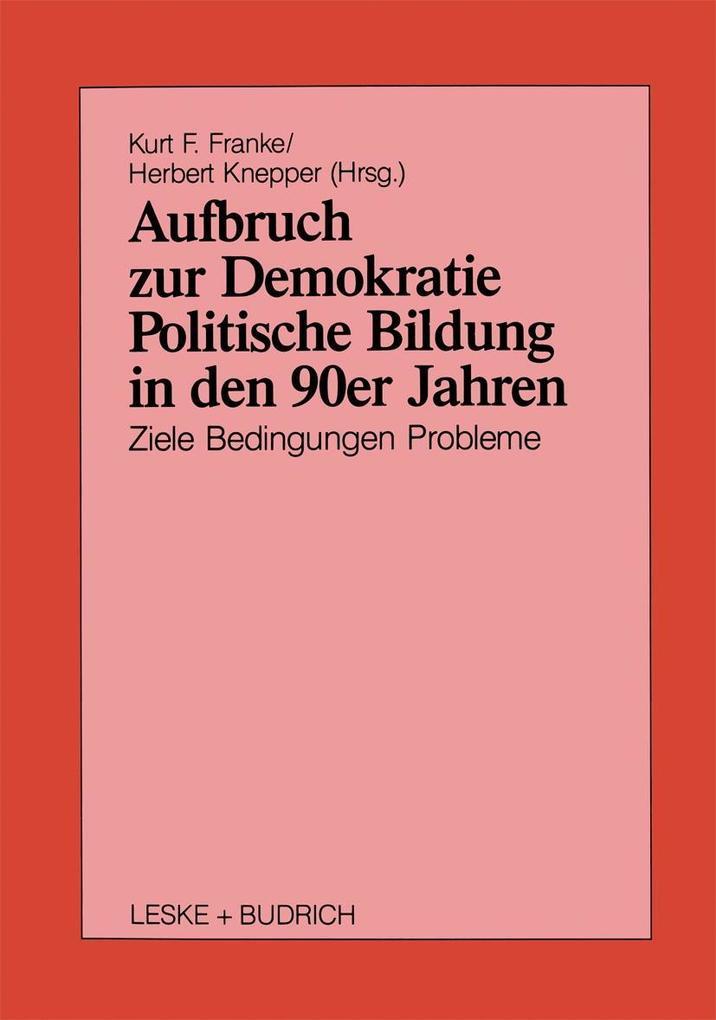 Aufbruch zur Demokratie als eBook Download von