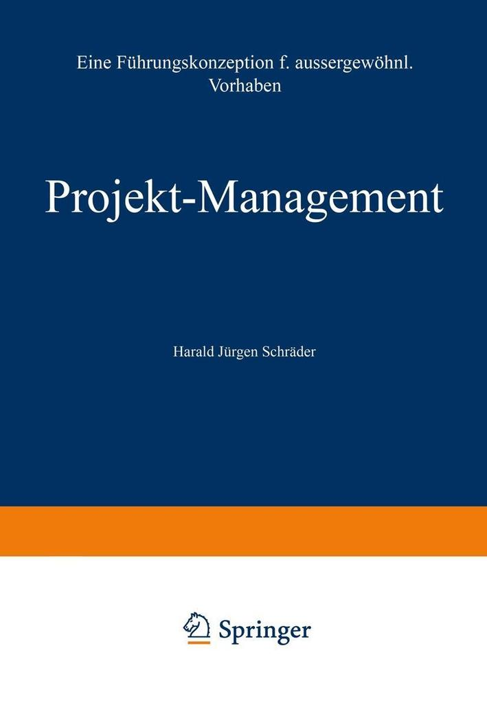 Projekt-Management als eBook Download von Haral...