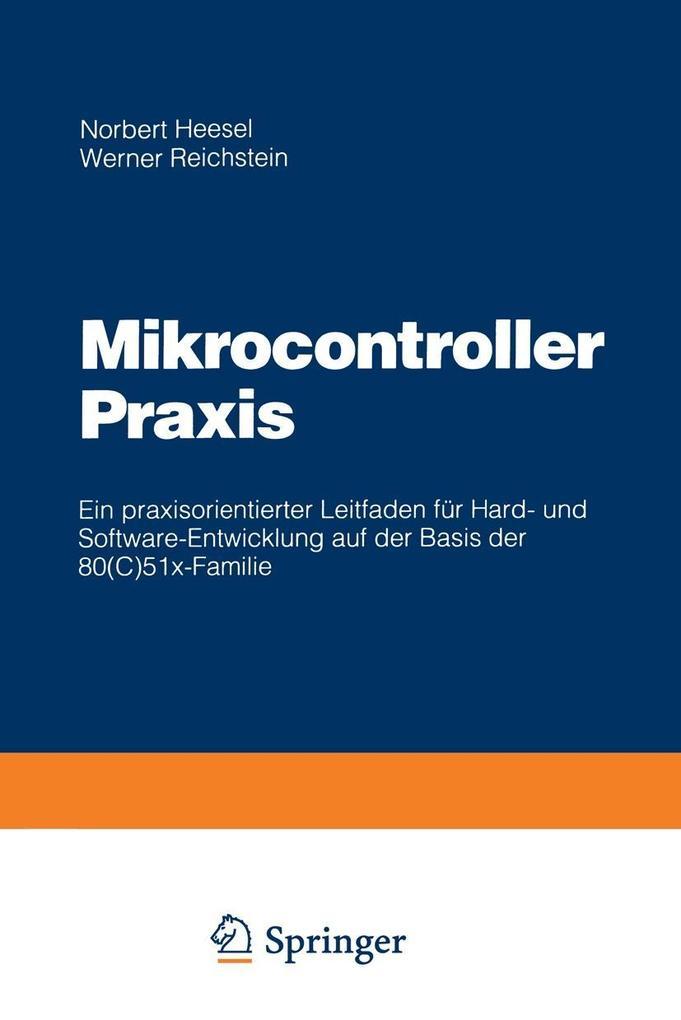 Mikrocontroller Praxis als eBook Download von N...