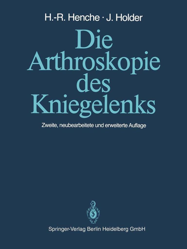 Die Arthroskopie des Kniegelenks als eBook Down...