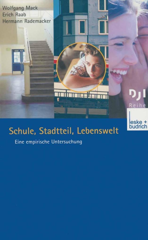 Schule, Stadtteil, Lebenswelt als eBook Downloa...