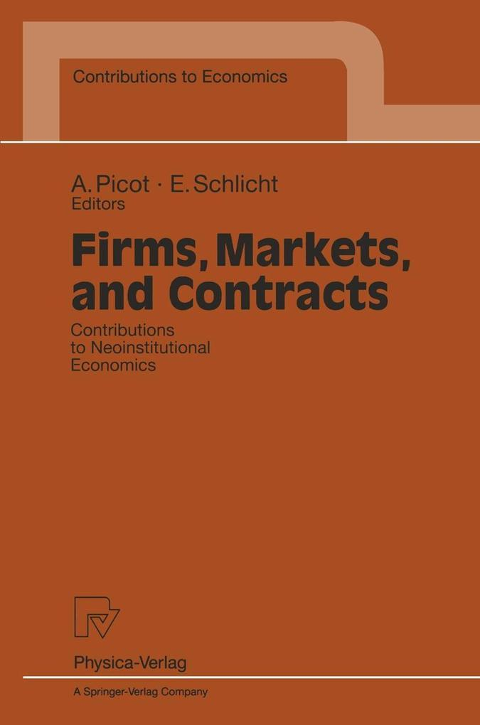 Firms, Markets, and Contracts als eBook Downloa...