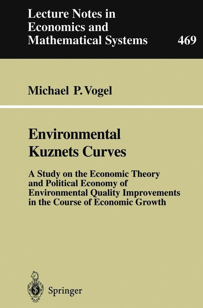 Environmental Kuznets Curves als eBook Download...