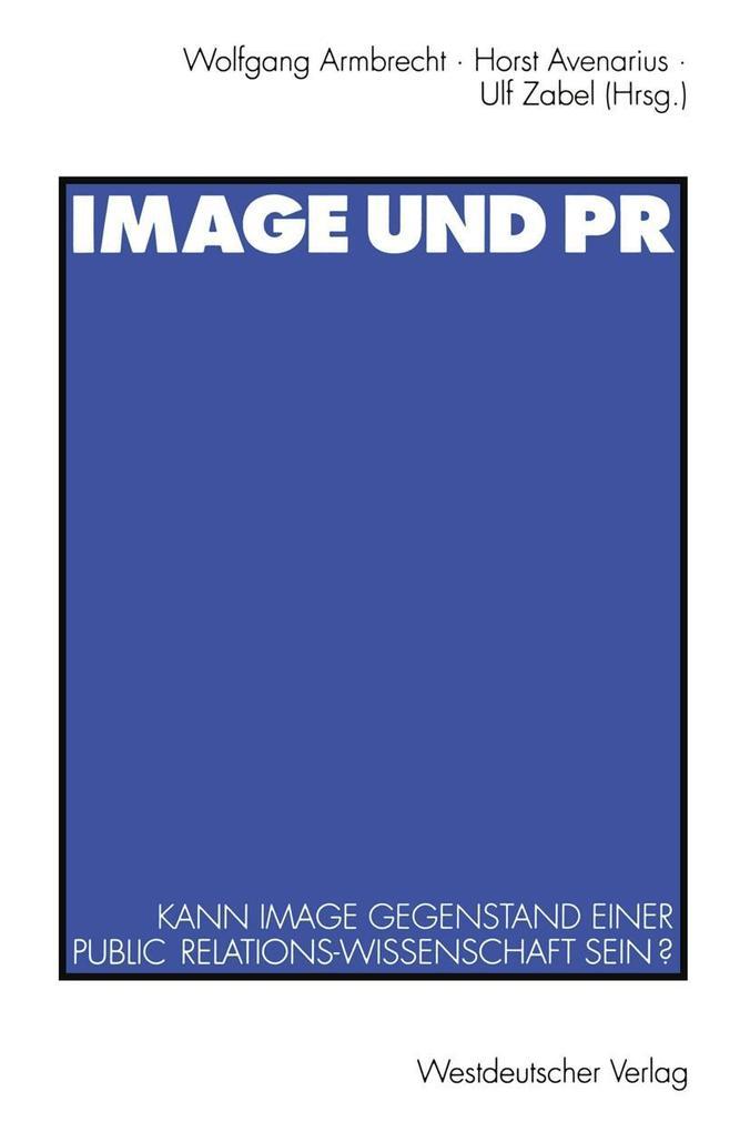Image und PR als eBook Download von