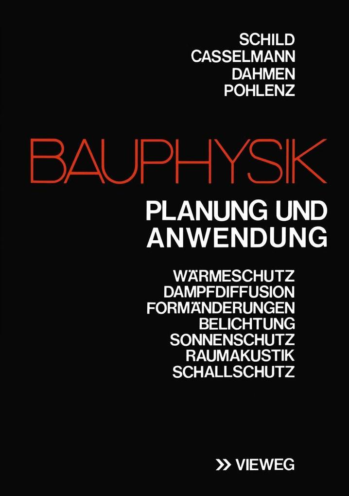 Bauphysik als eBook Download von Erich Schild