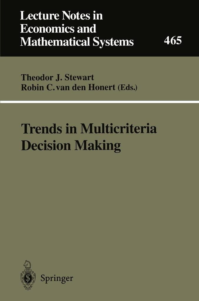 Trends in Multicriteria Decision Making als eBo...