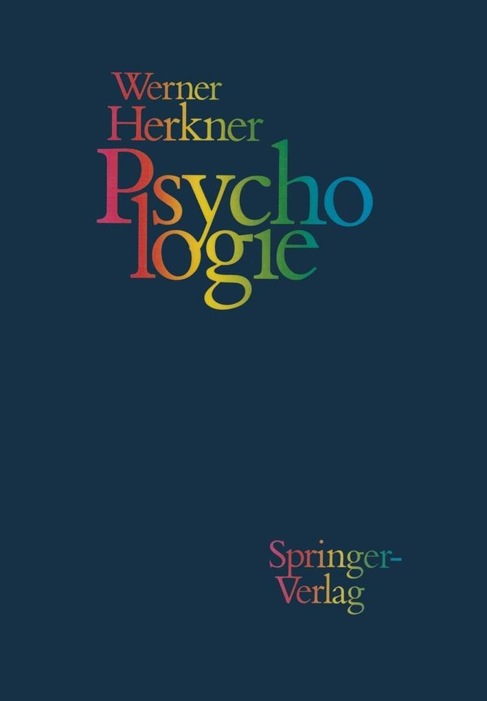 Psychologie als eBook Download von Werner Herkner