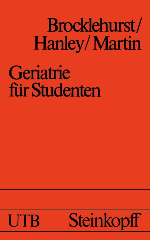 Geriatrie fur Studenten als eBook Download von ...