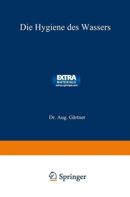 Die Hygiene des Wassers als eBook Download von ...