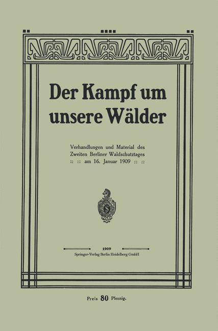 Der Kampf um unsere Walder als eBook Download v...