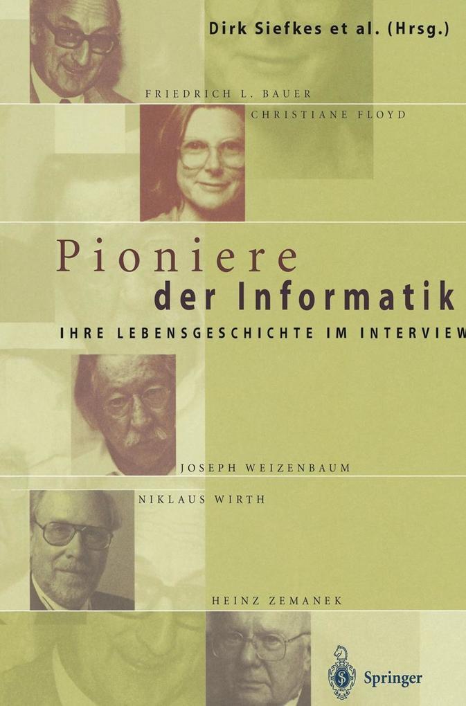 Pioniere der Informatik als eBook Download von
