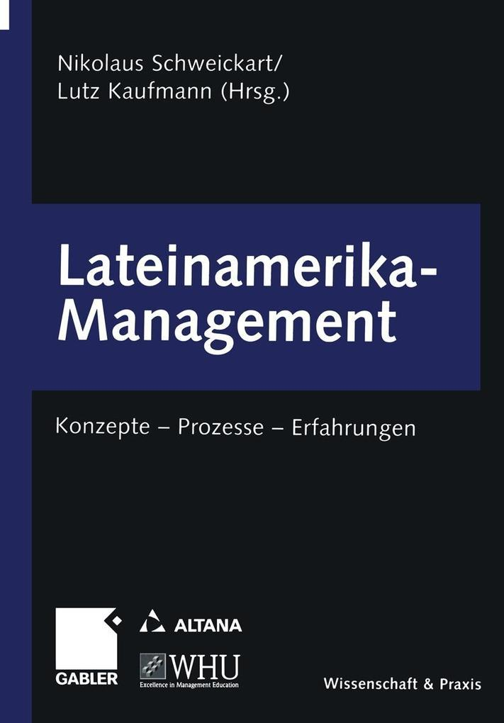 Lateinamerika-Management als eBook Download von