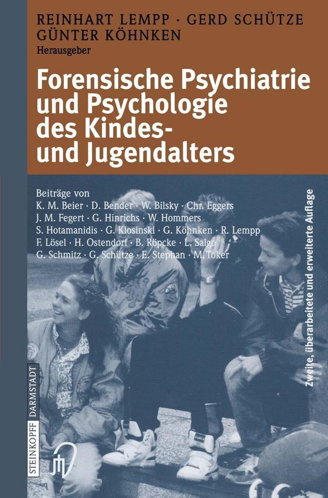 Forensische Psychiatrie und Psychologie des Kin...