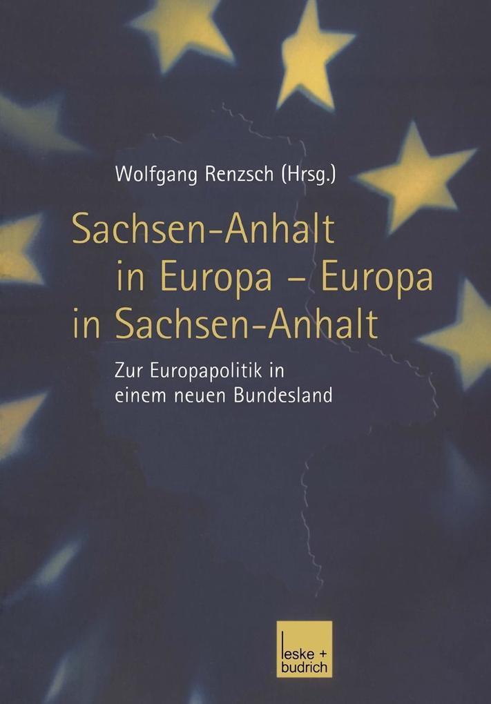 Sachsen-Anhalt in Europa - Europa in Sachsen-An...