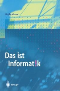 Das ist Informatik als eBook Download von