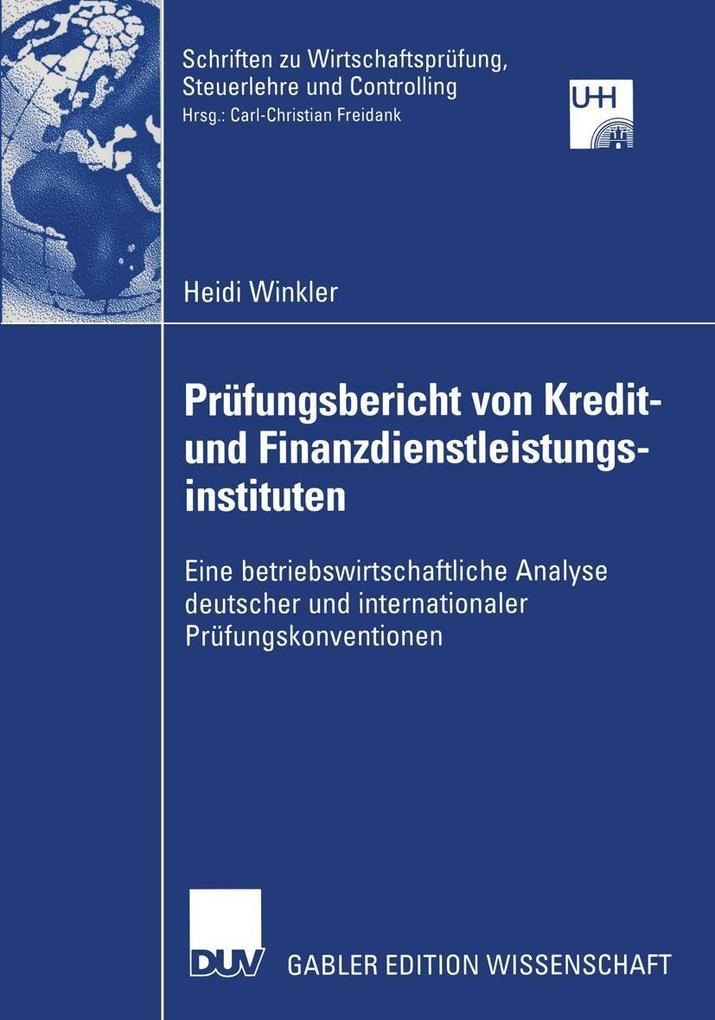 Prufungsbericht von Kredit- und Finanzdienstlei...