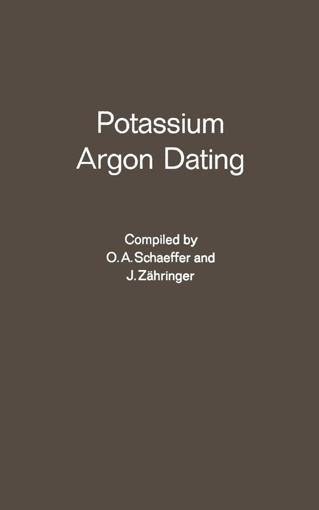 Potassium Argon Dating als eBook Download von