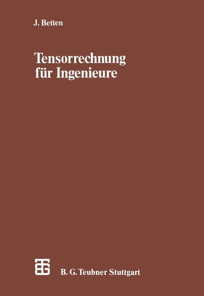 Tensorrechnung fur Ingenieure als eBook Downloa...