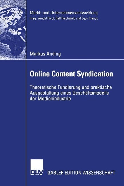 Online Content Syndication als eBook Download v...