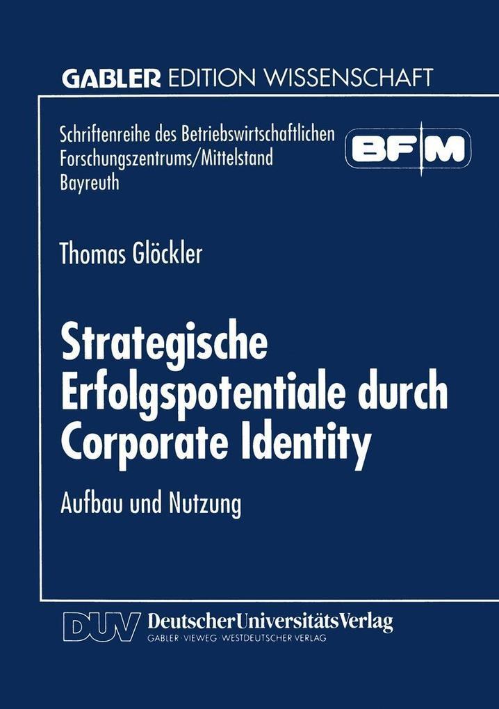 Strategische Erfolgspotentiale durch Corporate ...