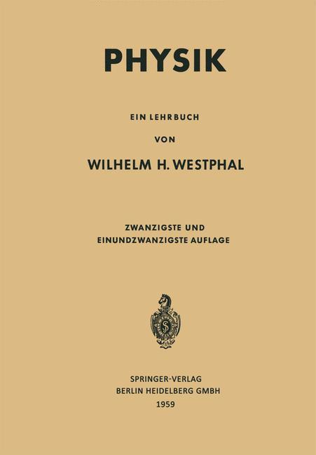 Physik als eBook Download von Wilhelm Heinrich ...