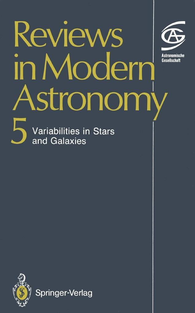 Reviews in Modern Astronomy als eBook Download ...