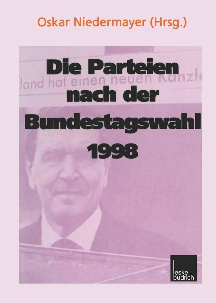 Die Parteien nach der Bundestagswahl 1998 als e...