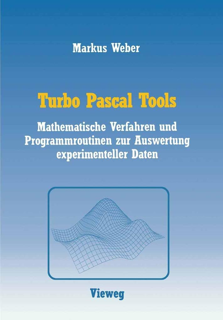 Turbo Pascal Tools als eBook Download von Marku...