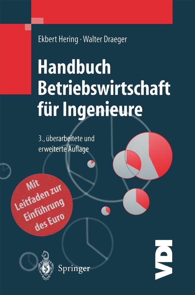 Handbuch Betriebswirtschaft fur Ingenieure als ...