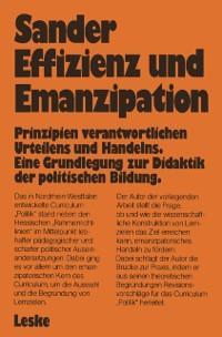 Effizienz und Emanzipation als eBook Download v...