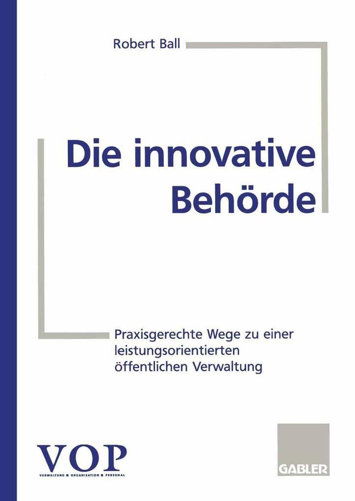 Die innovative Behorde als eBook Download von