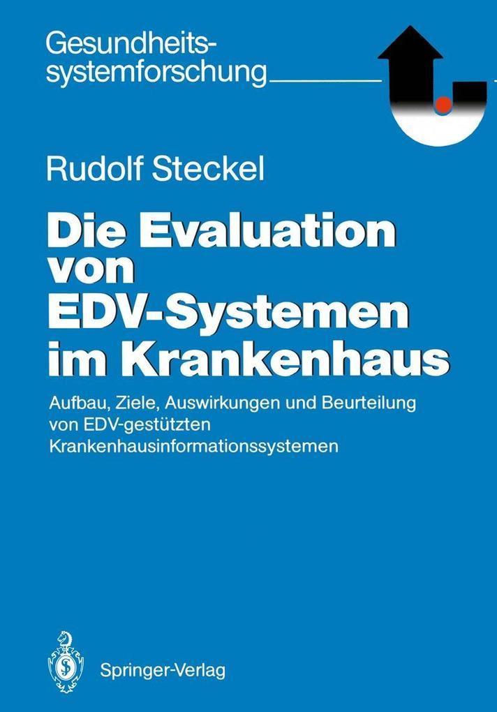 Die Evaluation von EDV-Systemen im Krankenhaus ...