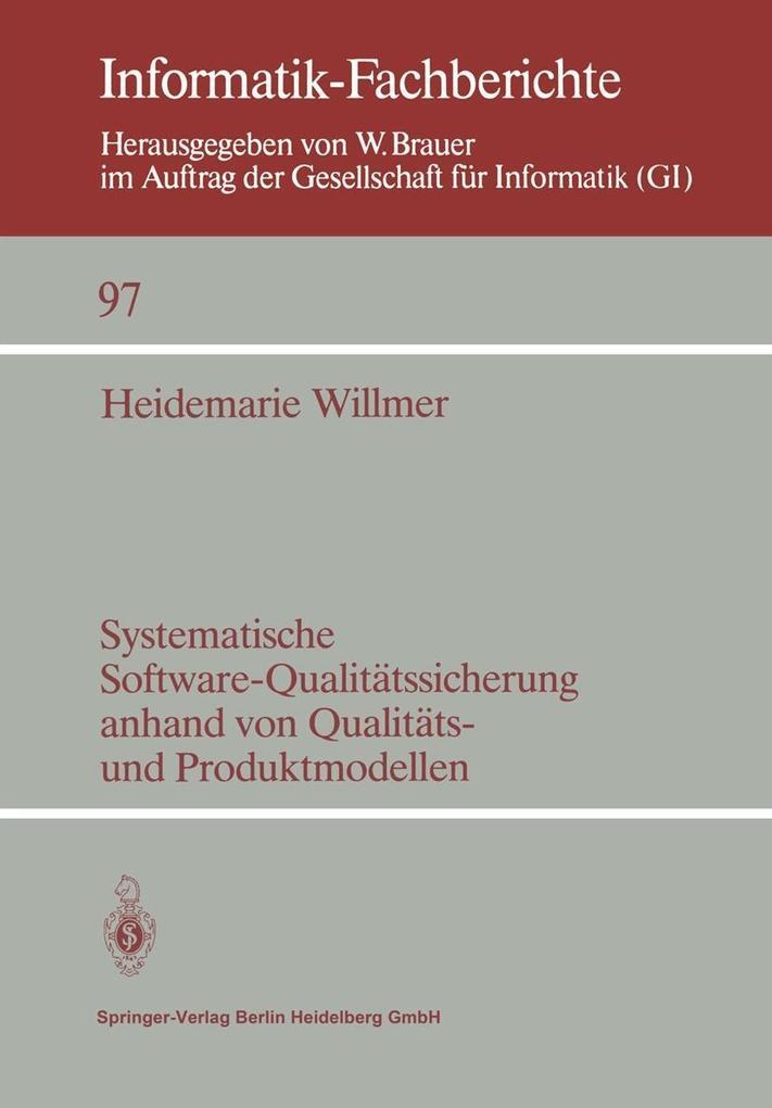 Systematische Software-Qualitatssicherung anhan...