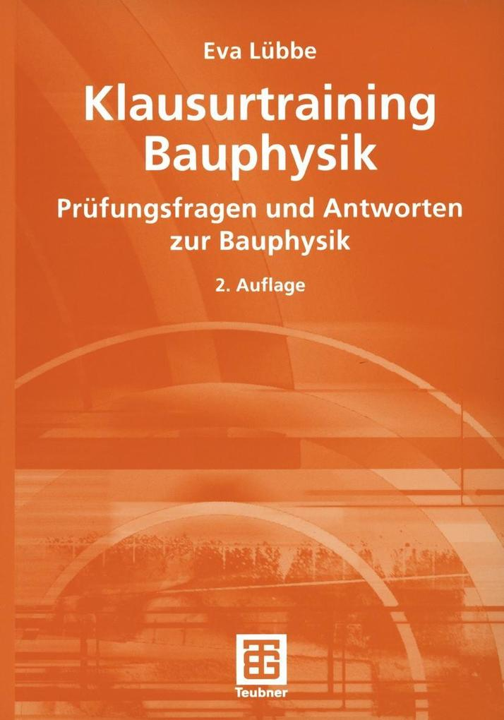 Klausurtraining Bauphysik als eBook Download vo...