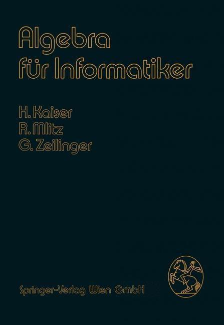 Algebra fur Informatiker als eBook Download von...