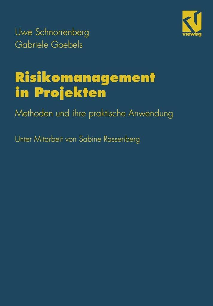 Risikomanagement in Projekten als eBook Downloa...