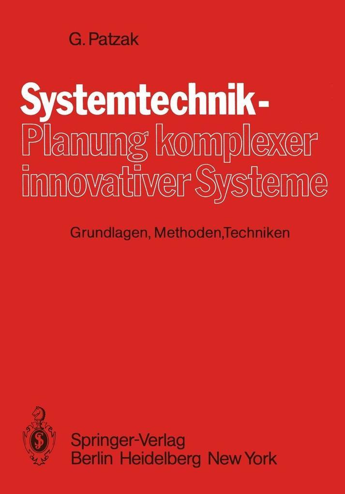 Systemtechnik - Planung komplexer innovativer S...