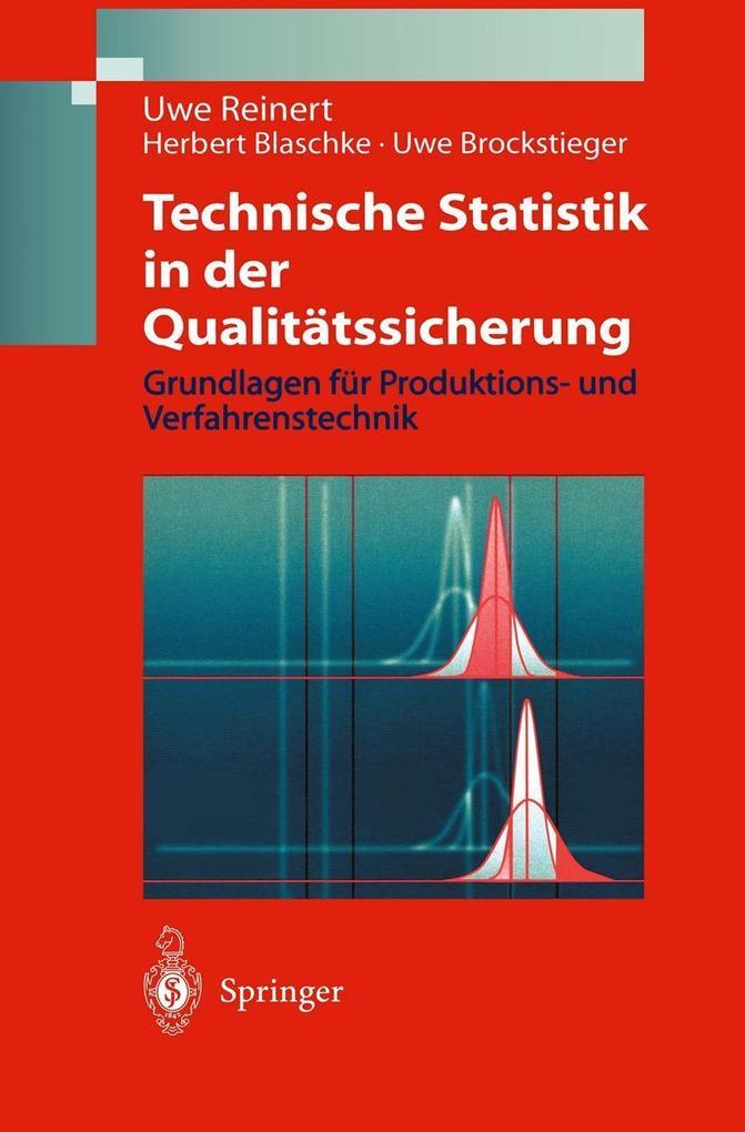 Technische Statistik in der Qualitatssicherung ...