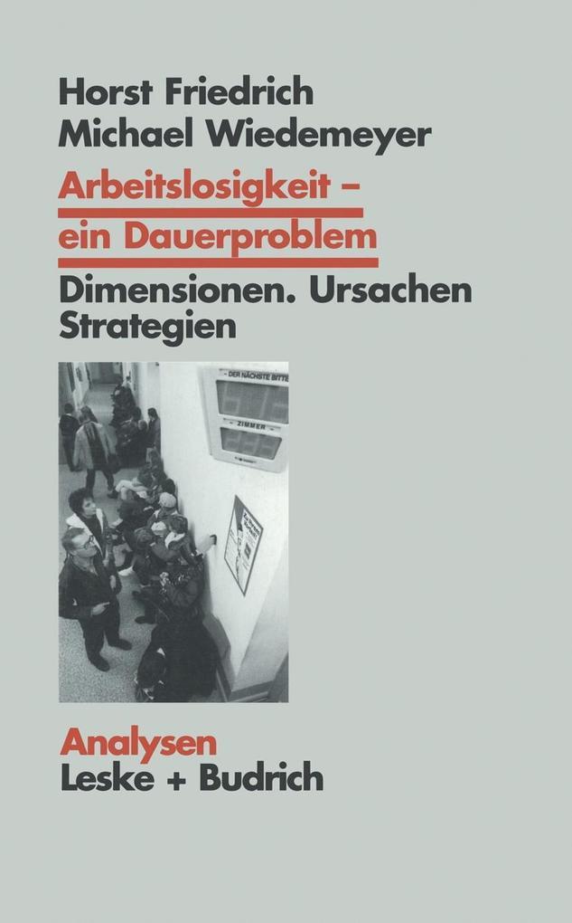 Arbeitslosigkeit - ein Dauerproblem als eBook D...