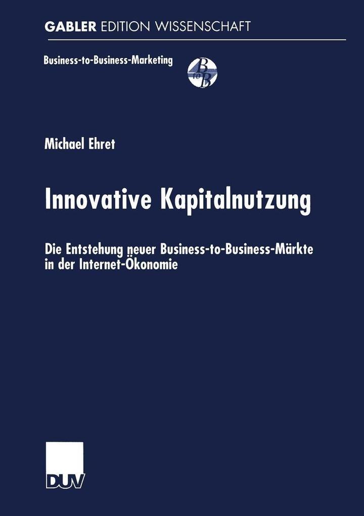 Innovative Kapitalnutzung als eBook Download vo...