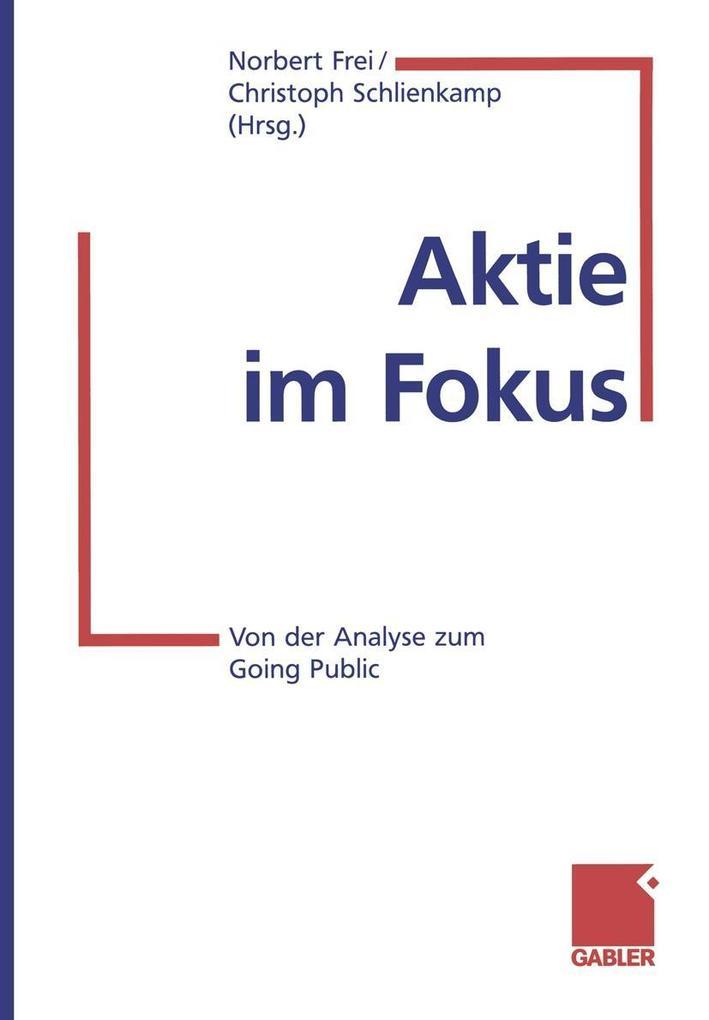 Aktie im Fokus als eBook Download von